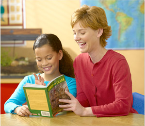 Image result for teacher reading a book